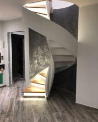 scala per interni a chiocciola