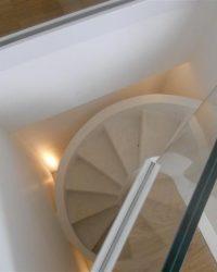 scala a vista per interni