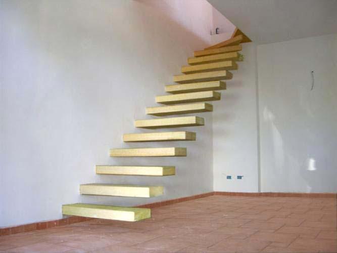 Scale a giorno per interni ed esterni scale di pira - Scale moderne in marmo ...