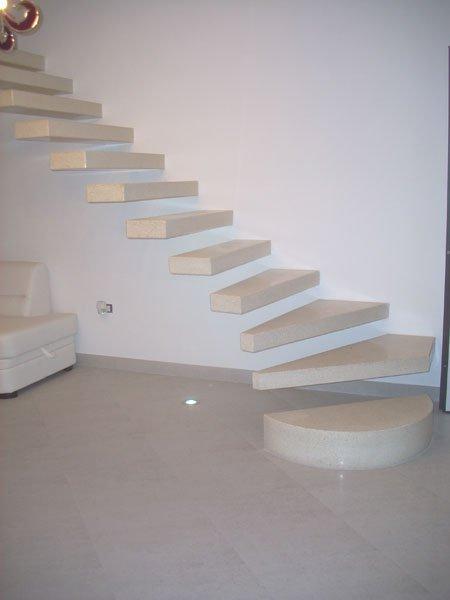 Scale a sbalzo scale di pira - Scale a vista per interni ...
