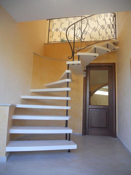 Scale a giorno per interni ed esterni scale di pira - Scale per esterno in muratura ...