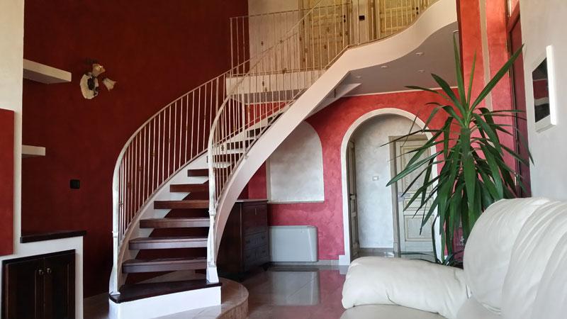 Scale a giorno per interni ed esterni scale di pira for Arredamento scale